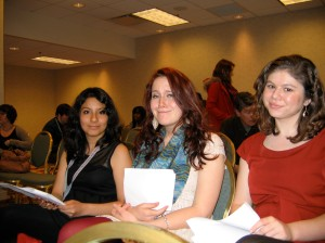 Creative Writing Students attend the AWP Conference