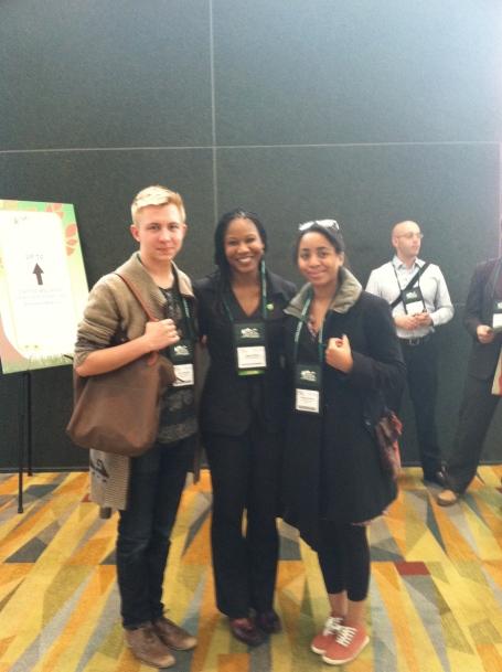 Devin & Katherine met Majora Carter, founder of Sustainable South Bronx